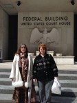 Kim and Dorothy after meeting with Senator Toomey's office.