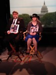 Marianne and Jerry Karth are interviewed at NBC studios